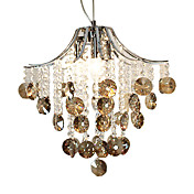 Modern Crystal Pendant Lights with 3 Lights
