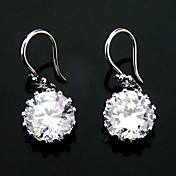 Fashion Cubic Zirconia In Alloy Earrings