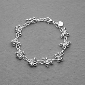 Beautiful Silver Plated Women's Bracelet