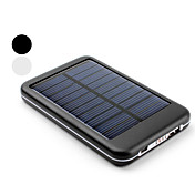 Cargador Solar Porttil de 5000mAh USB y Batera Externa Para el iPhone, iPad y Telfonos Mvil