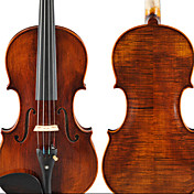 Hailing - (HZYVL-DBL) 4/4 High-Grade Archaize Solid Flame Maple Violin Outfit