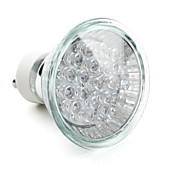 GU10 1.3W 21-ledede 40lm bltt lys LED-spot pre (220-240V)
