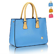 Candy Color Concise Tote