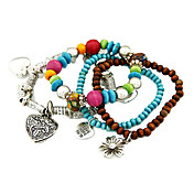 Retro Beaded Multi-Layer Bracelet