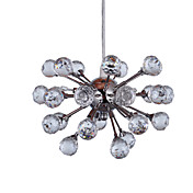 Lmpara Chandelier de Cristal con 6 Bombillas - WACO