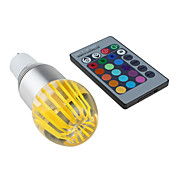 GU10 3W 270-300LM RGB Light LED Crystal Ball Bulb (85-265V)