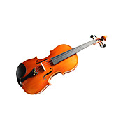 Violintine - (V26) 4/4 Professional-Grade Solid Spruce &amp; 1-Piece Flame Maple Violin with Case/Bow