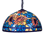 Tiffany Pendant Lights with 2 Lights in Glass Shade