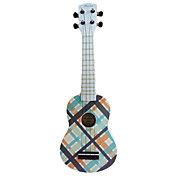 (Cheque-3) Ukulele Soprano Basswood con / bolso / Cadena de Selecciones