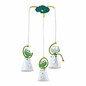 3*7W Lovely Pendant Lights with Dancing Frog