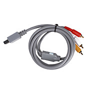 s-vido AV Cable pour Wii / Wii u (gris)