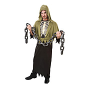 Voksen Mensskeleton Corpse Halloween Costume