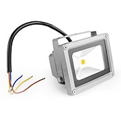 Waterproof 10W 1000LM 3000-3500K Warm White Light LED Flood Lamp (85-265V)