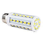 E27 9W 44x5050 SMD 650-700lm 3000-3500K varm hvit lys ledet mais pre (220-240V)