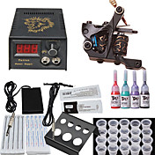 1 Cast Iron Tatoo Machine Kit for Lining and Shading