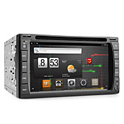 Android 6.2 pollici auto lettore dvd con gps, dvb-t, wifi e connessione internet 3g