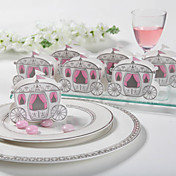 &quot;Enchanted Carriage&quot; Fairytale Themed Favor Box (Set of 12)
