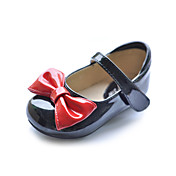 Kids' Leatherette Flat Heel Closed Toe With Split Joint Bowknot Party/Evening Shoes(More Colors)