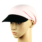 Pure Colour Polyester Sun Protection Cycling Cap