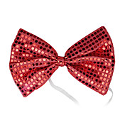 Red Sequins Bow Halloween Cravat(1 piece)