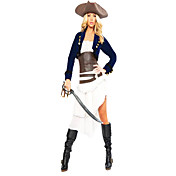 Cool Pirate Cowboy Dress Kostuum van Halloween (4 Stuks)
