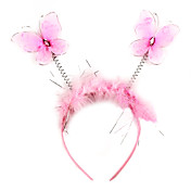 Cute Pink Butterfly Halloween Headpiece (1 piece)