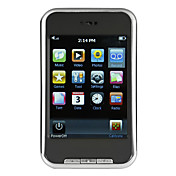 2,8 inch touch screen MP5-speler FM / Camera / Voice Recorder 4GB