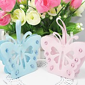 Beaufiful Butterfly Design Favors Bags - Set of 12 (More Colors)