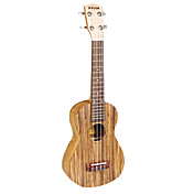 PYLON - (PU-123Z) Plywood Zebrano Concert Ukulele with Bag