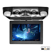 10.1 Inch Roof Mount Car DVD Player Support Game, SD Card