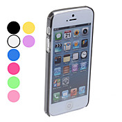 Simple Design Bumper Case for iPhone 5 (Assorted Colors)