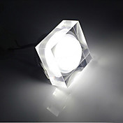 3W Quadrate Crystal LED Plafonnier