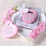 Heart Shaped Calculator Favor