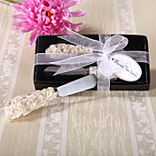 Rose Garden Resin Handle Spreader Wedding Favor