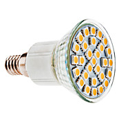 E14 5W 29x5050 SMD 450-480LM 3000-3500K Warm White Light LED Spot Bulb (110-240V)