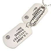 U.S.ARMY Double-faced Necklace-Matte Surface