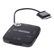 3-USB HUB Male and Card Reader Adapter with USB Cable for Samsung Galaxy Tab 10.1 and 8.9
