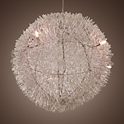 Modern Chandelier with 5 lights (Aluminum Shade)