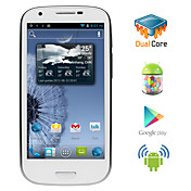 triton - android 4.1 dual core cpu smarttelefon med 4,6 tommers kapasitiv berringsskjerm (dual sim, gps, 3g, wifi)