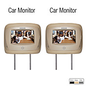7 Inch Headrest Car Monitor with Remote Control(1 Pair)