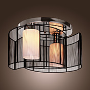 BRAZORIA - Lampadario moderno con 2 lampadine