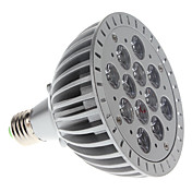 E27 par46 12W 1100-1200lm rdt og bltt lys LED-spot pre plante vokse lys (85-265V)