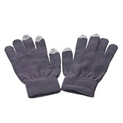 3-Finger Capacitive Screen Touching Winter Gloves for iPhone , iPad and Others (Assorted Colors)
