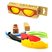 Sunglasses Shaped Students Clamp(Random Colors)