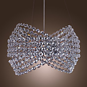 Lustre Cristal Elgant avec 3 Lampes