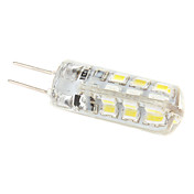 G4 2W 240-270LM 6000-6500K Natural White Light Resin LED Corn Bulb (12V)
