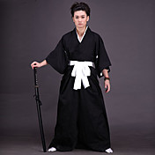 Cosplay Costume Inspired by Bleach Ichigo Kurosaki Soul Reaper Uniform