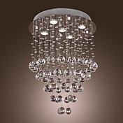 Crystal Chandelier with 5 lights - Baroque Design (K9 Crystal)