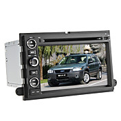 Pulgadas 2din coche 7 reproductores de DVD para Ford (gps, bluetooth, iPod, RDS)