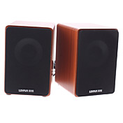 Premium Sound Mini Multimedia Speaker for PC Laptop MP3(Random Color)
